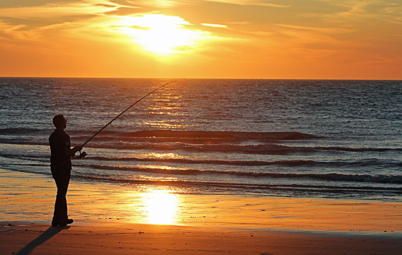 Abendstimmungan der Nordsee