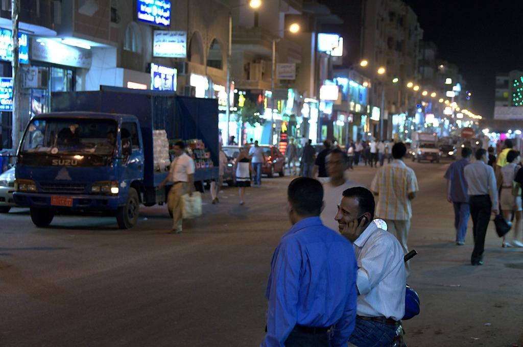 Abendszenen in Hurghada 02
