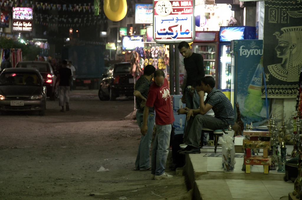 Abendszenen in Hurghada 03