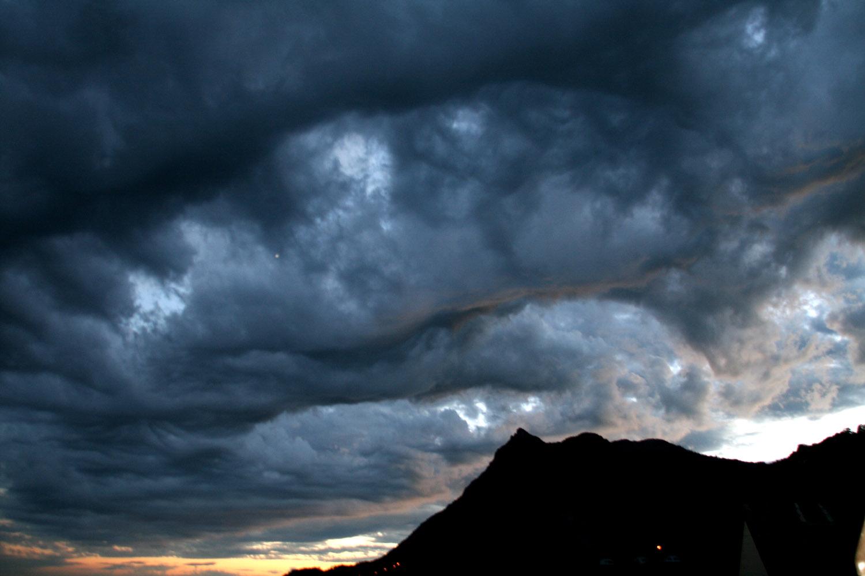 Abendwolken am Balmfluechöpfli