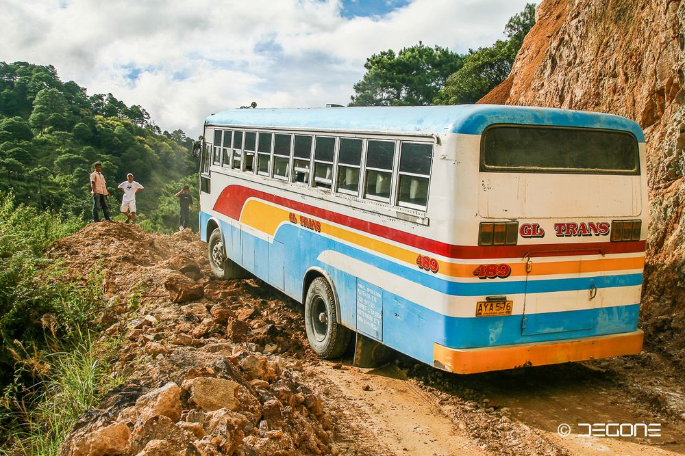 Abenteuer Halsema Road