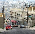 Abenteuerliche Fahrt durch Amman