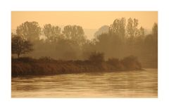 ...aber manchmal ist gelbes Licht... - oder: an der goldenen Weser...