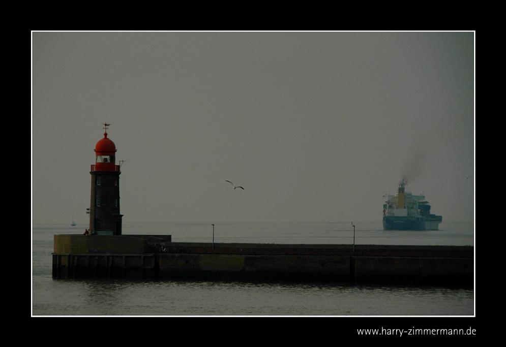 Abfahrt aus Bremerhaven