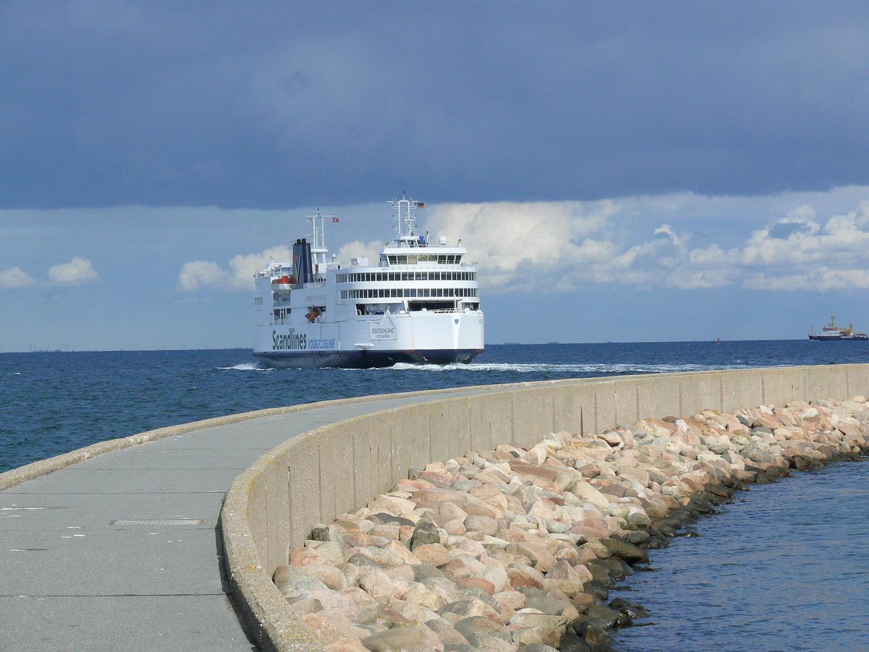 Abfahrt der Dänemark-Fähre