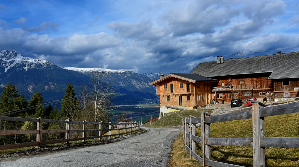 Abfahrt vom Kolsassberg, Tirol