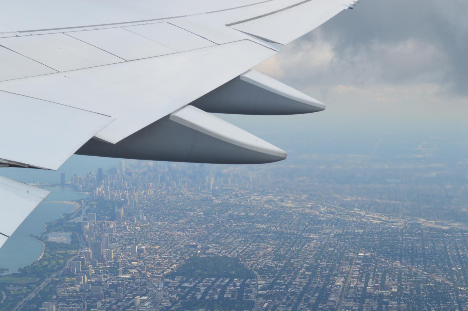 Abflug Chicago