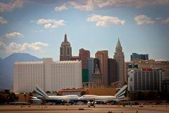 Abflug aus Las Vegas
