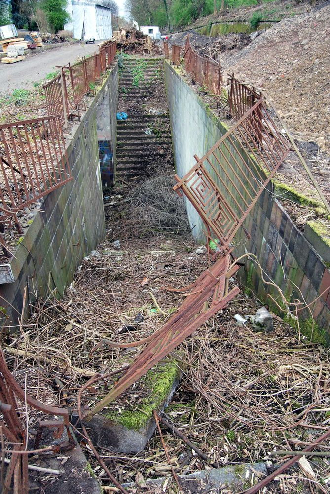Abgänge des Bf Essen Altendorf