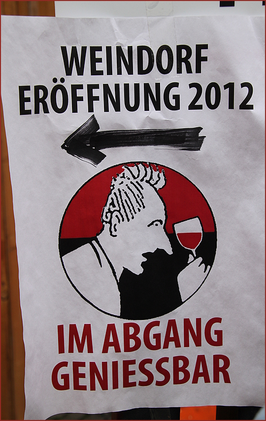 ABGANG mit GENUSS ...  zum 5.1.2013