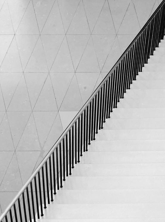 abgestufte Diagonale
