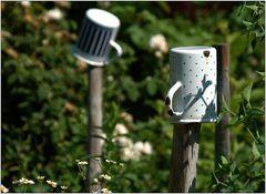 ... abhängen im Garten ....