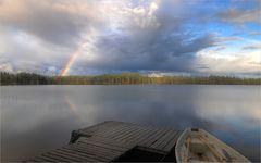 abhängen in Lappland