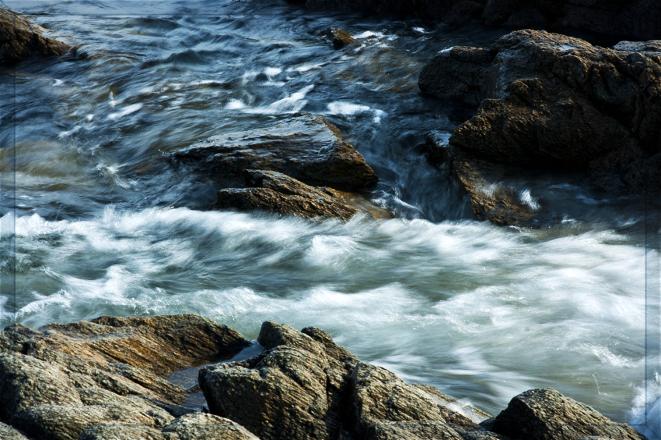Ablaufendes Wasser