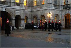 Ablösung der Horse Guardswache...