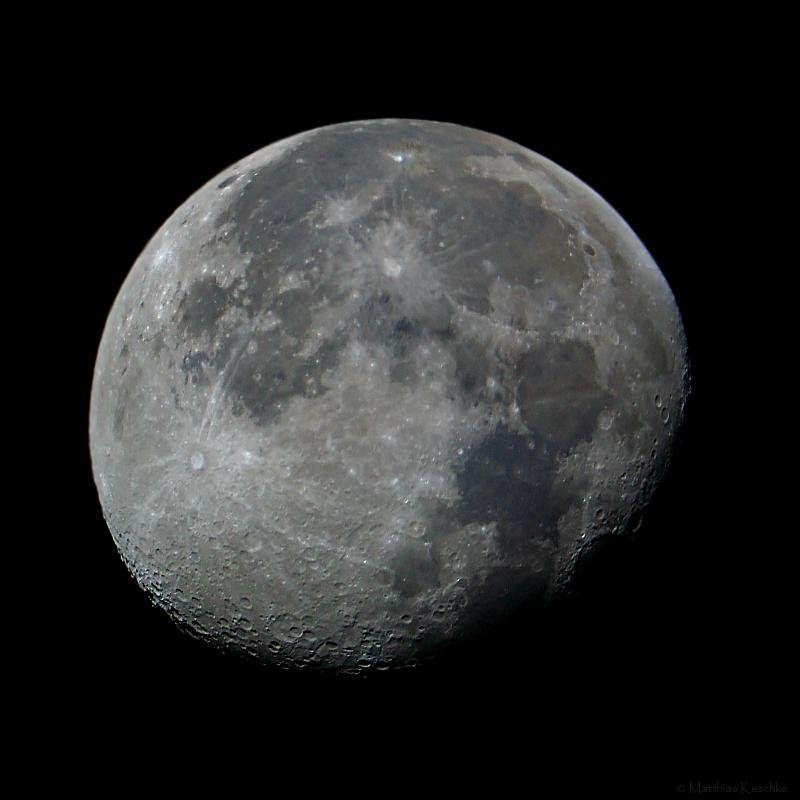 Abnehmender Mond - ein Klassiker