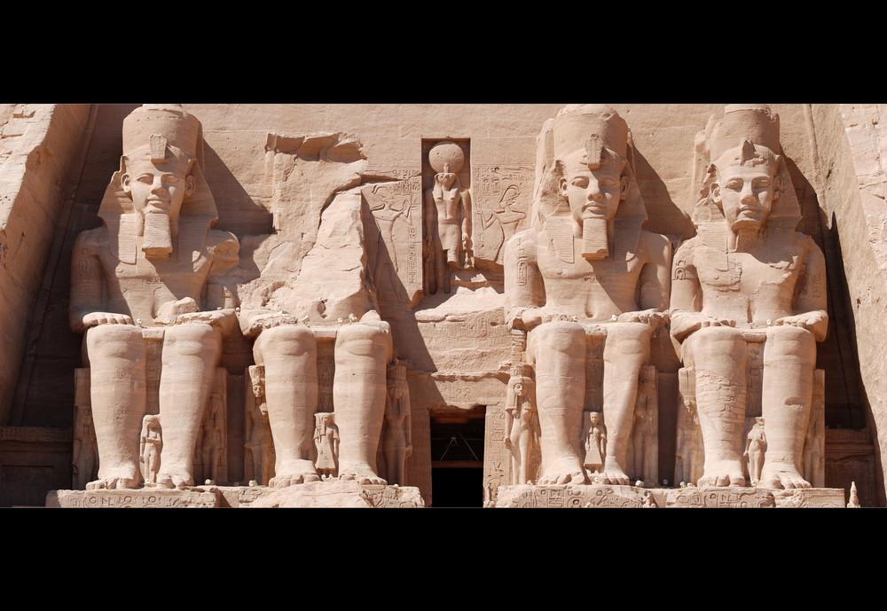 Abou Simbel - Haute Egypte