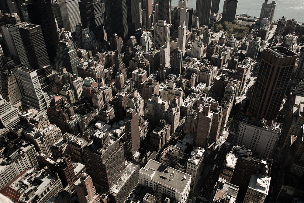 Above NYC