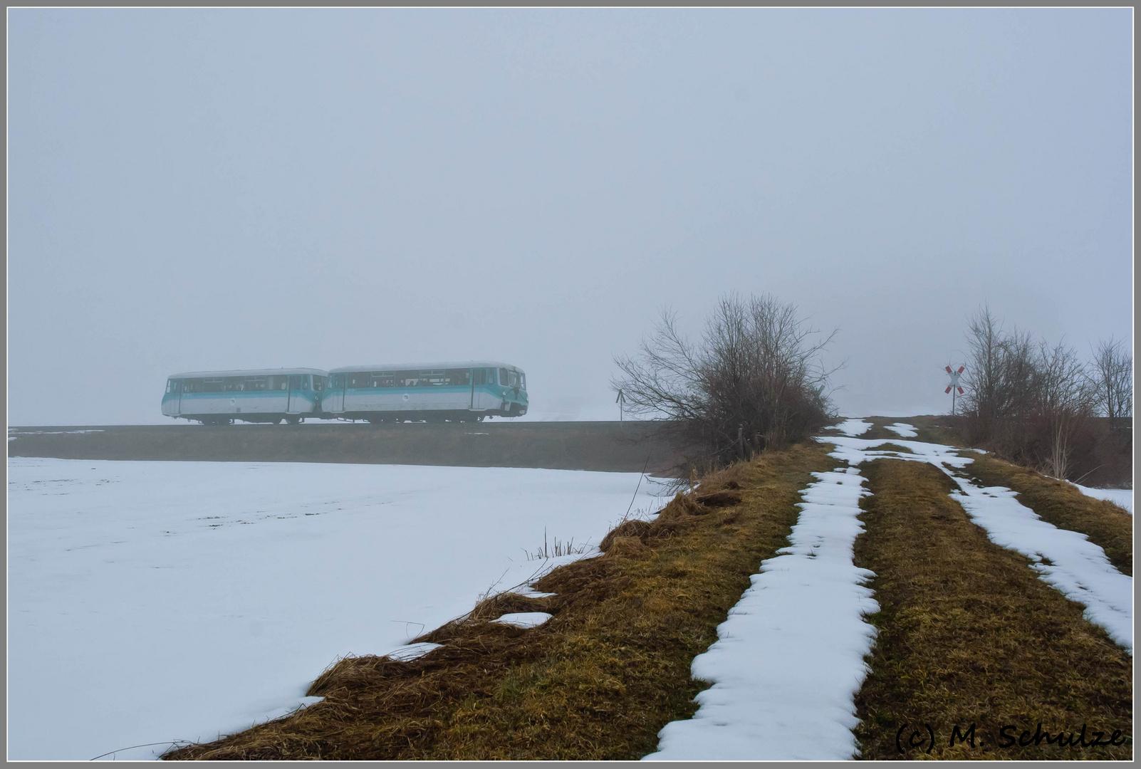 Abschied im Nebel