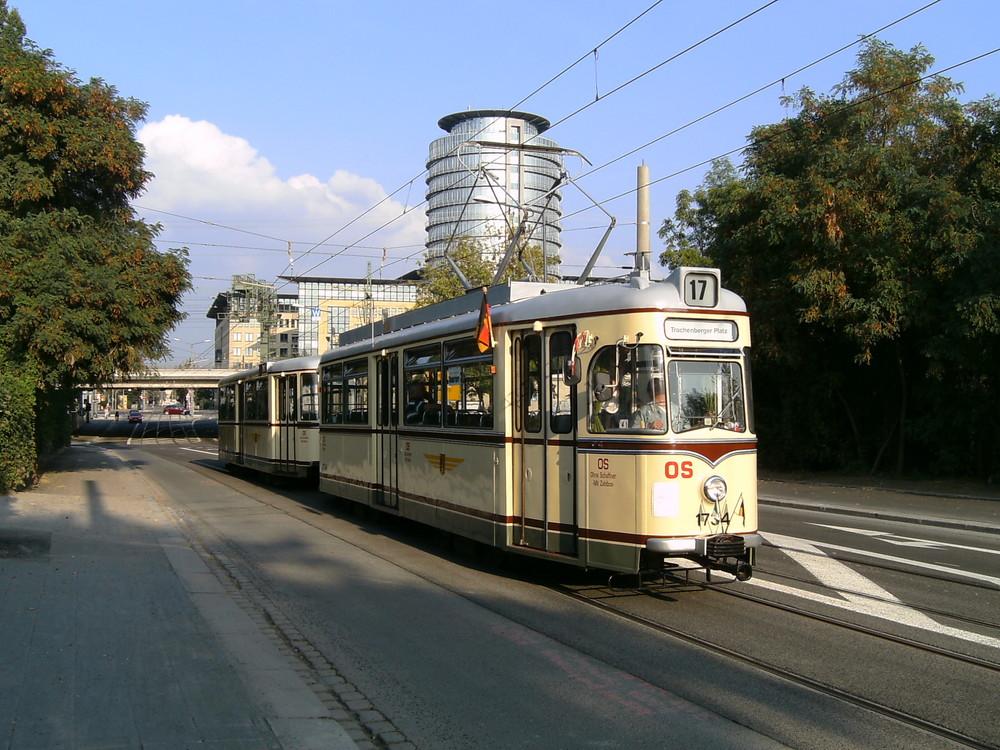 Abschied vom Gotha Großraum TW (Vorerst) in Dresden