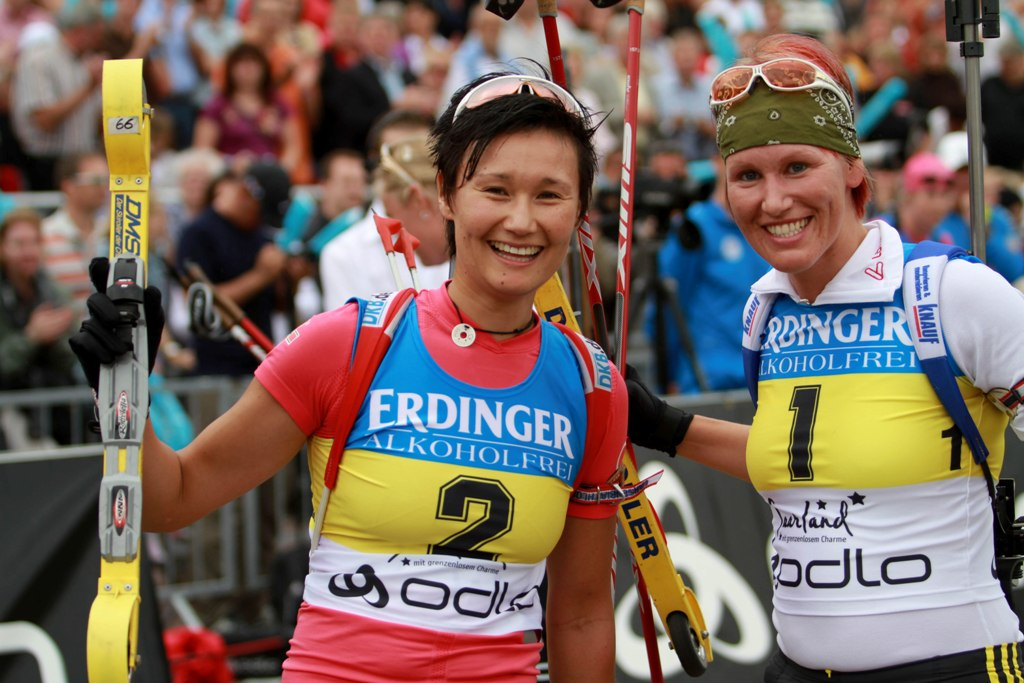 Abschied vom Profisport, Simone Hauswald & Kathi Wilhelm