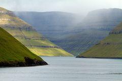 Abschied von den Färöer Inseln