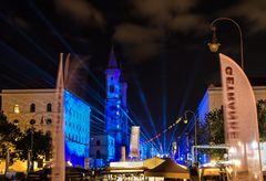 Abschluss Show zum Tag der Deutschen Einheit in München 3. Oktober 2012