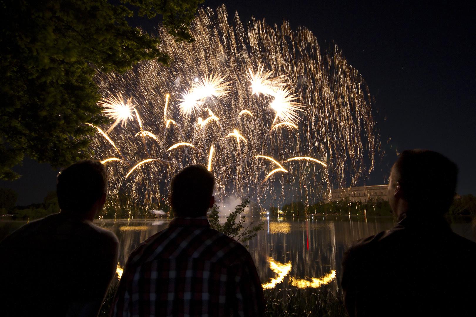 Abschlussfeuerwerk Frühlingsfest Nürnberg