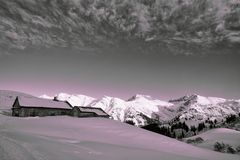 Abseits der Pisten am Arlberg...