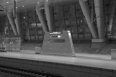 Absolute Ruhe - Fernbahnhof am Flughafen Frankfurt am Main