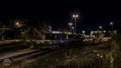 .....Abstellgleis bei Nacht