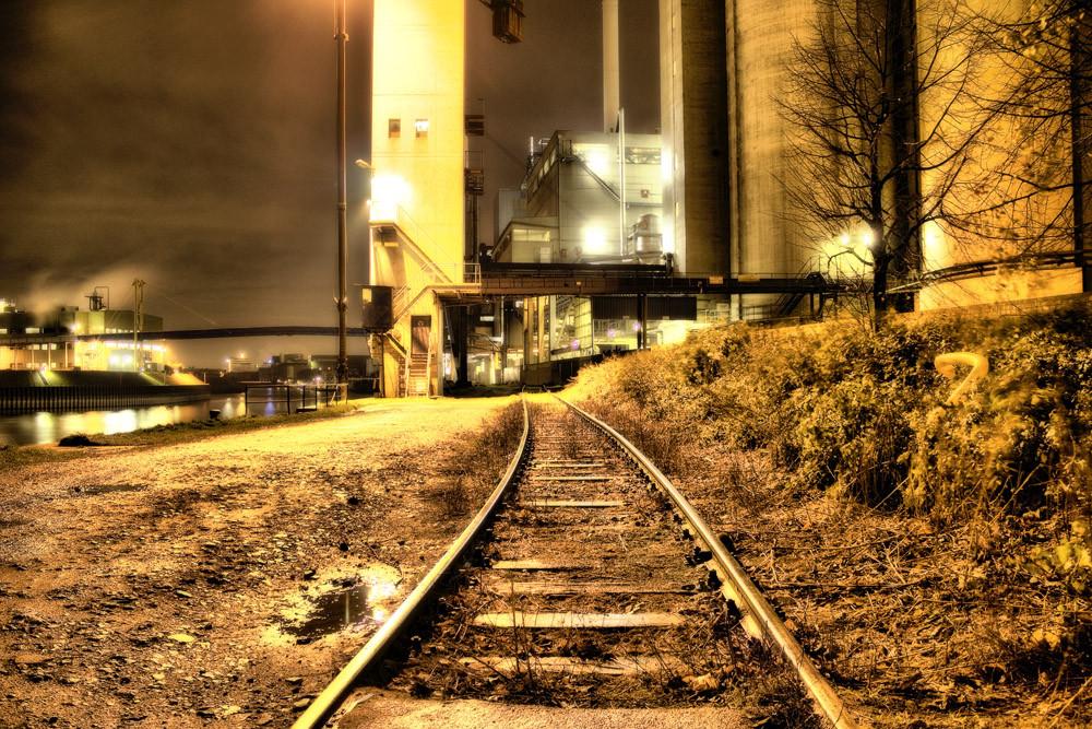 Abstellgleis. Industrielichter (5)