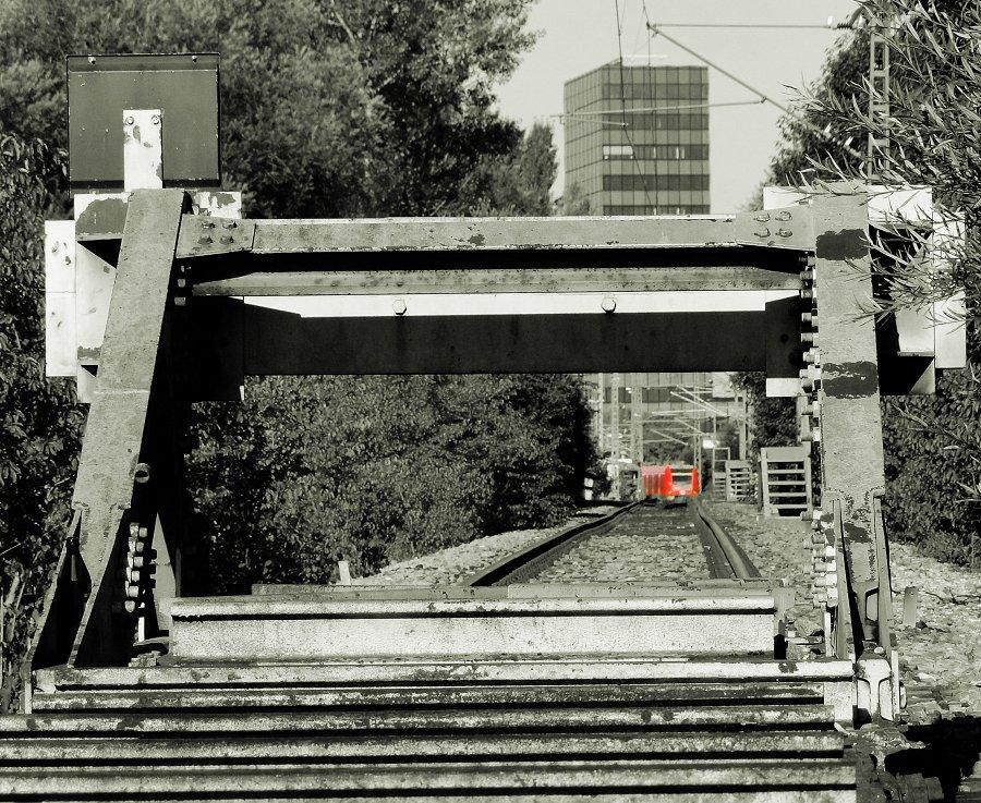 """""""Abstellgleis"""", München-Steinhausen, 03.09.2011"""
