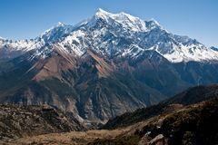Abstieg ins Kali Gadaki Tal