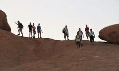 Abstieg Nambia Ca-col