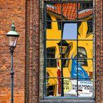 Abstrakte Fenster-Spiegelung