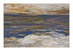 Abstrakte Naturkunst in Pastell