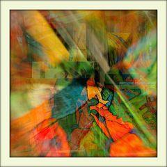abstrakte Überlagerungen