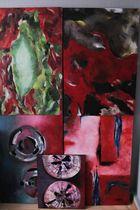Abstraktes Gemälde direkt vom Künstler