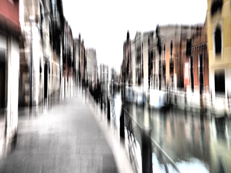 Abstraktes (III) aus Venedig.