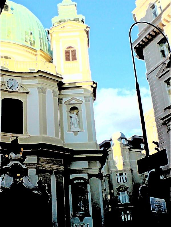 abstraktes Wien