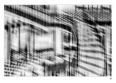 Abstraktion in Schwarz und Weiß