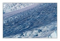 Abstraktion Island im Winter (1)