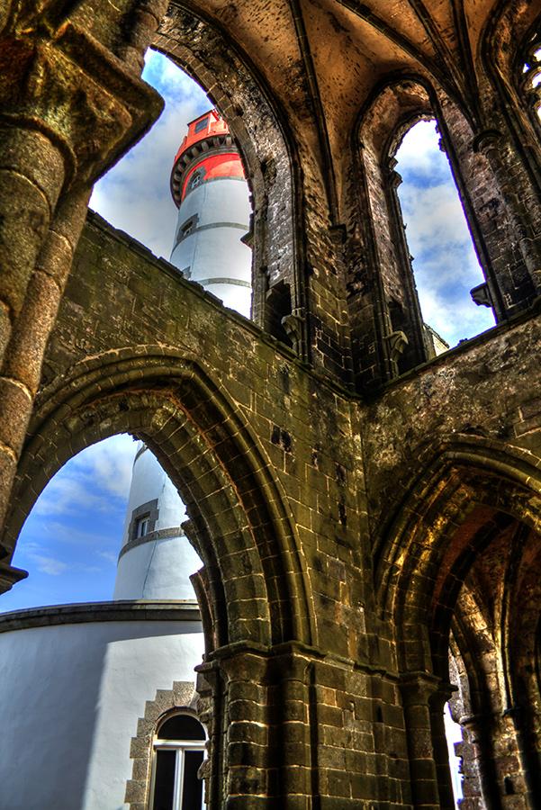Abtei und Leuchtturm