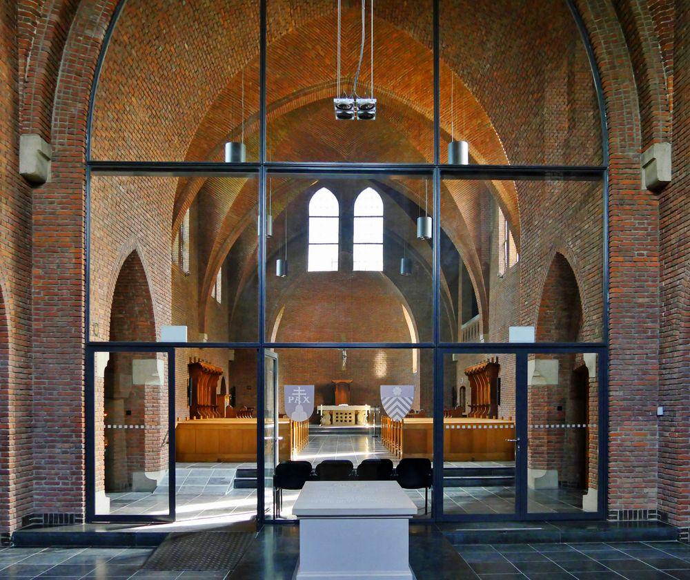 Abteikirche Abdij van Egmond ...