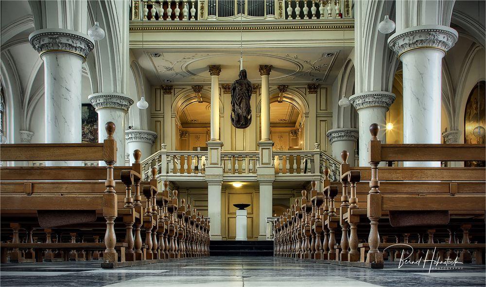 Abteikirche im niederländischen Thorn ....
