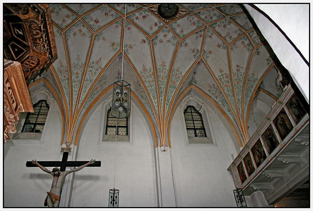 """Abteikirche """"Mariä Opferung"""" – Das Gewölbe"""