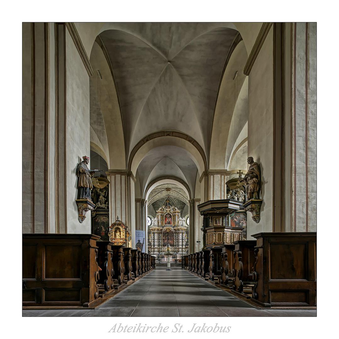 """Abteikirche St. Jakobus der Ältere """" Gott zu Gefallen..."""""""