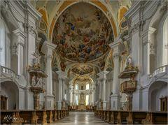 """Abteikirche  St. Ulrich und Afra - Neresheim """" Gott zu Gefallen... """""""