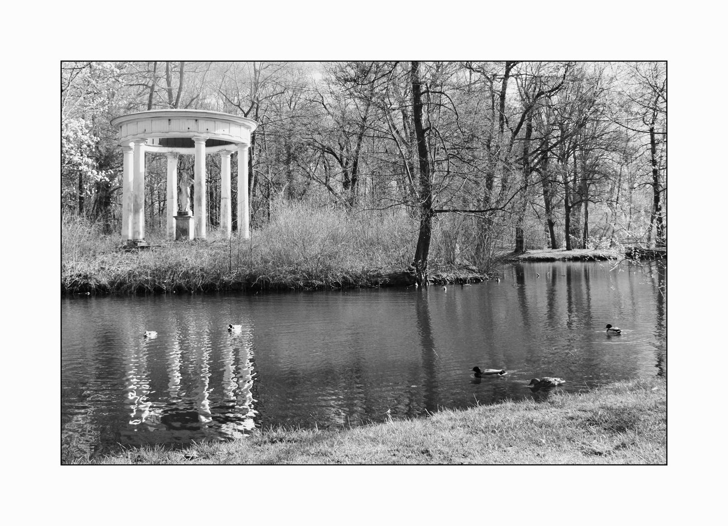 Abtnaundorfer Park in Leipzig